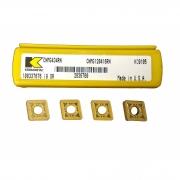 Pastilha intercambiável para torneamento CNMG120416RN KC9105 referência Kennametal