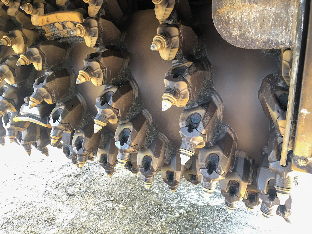 Bits para fresamento de asfalto, haste 20mm GESAC RA1201F19S