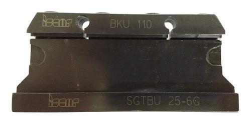 Bloco porta lâmina tipo bedame referência Iscar SGTBU25-8 com quadrado de 25 mm para lâmina de 44 mm