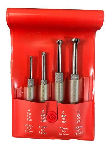Jogo de calibradores para furos e rasgos pequenos de 3,2 mm a 12,7 mm Starrett EZ831