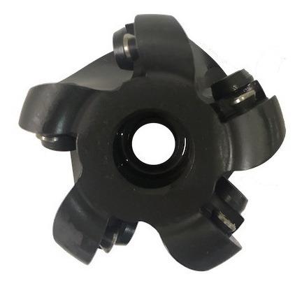 Fresa tórica diâmetro de 63 mm tipo cabeçote  para faceamento, cópia em relevo 3D e varredura para pastilha redonda RDPX1604