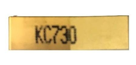Pastilha intercambiável para torneamento referência WNMG080404 KC730