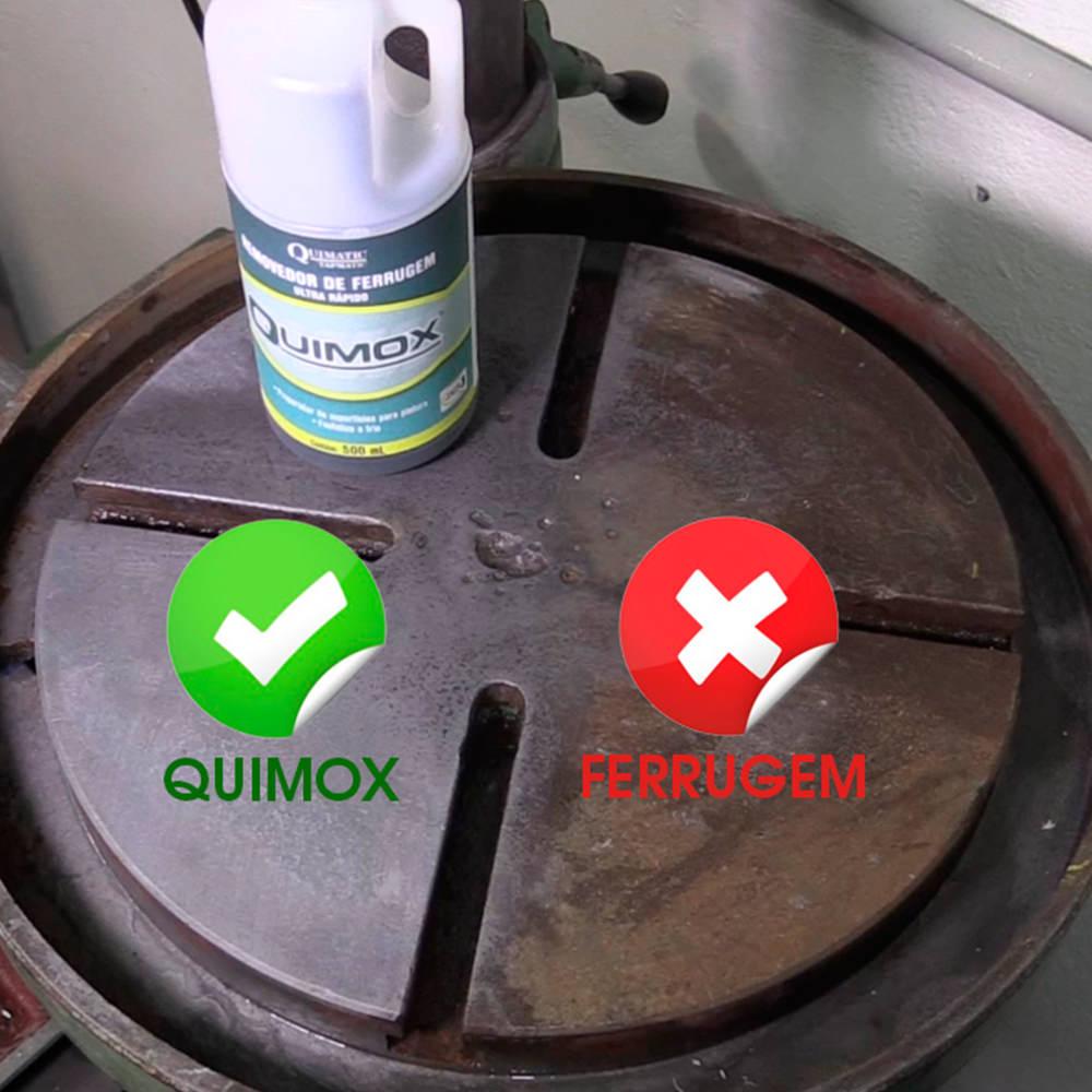 Removedor de ferrugem e oleosidade com rápido desempenho Quimox 500 ml RA1
