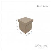 Caixa Porta Cotonete 7,5x7,5x9
