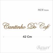 Cantinho Do Café Cursivo 42 cm