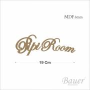 Pipi Room Cursivo 19 cm