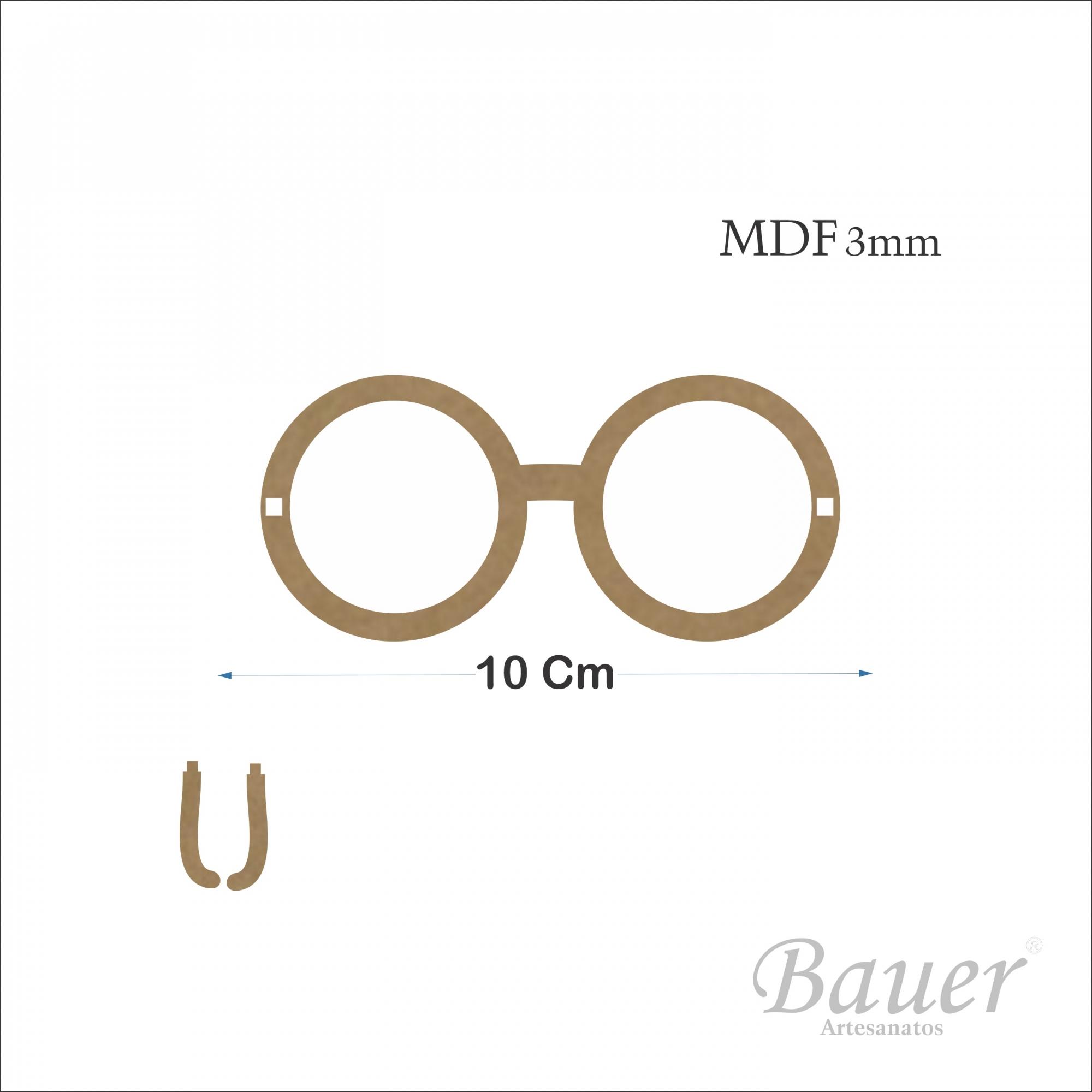 Óculos 10 cm