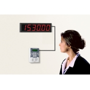 Cronômetro Digital Regressivo 6 Dígitos CR-2  / RDI-4M  (display remoto para 40 metros