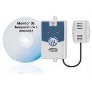 Monitor de Temperatura e Umidade Relativa Para Data Center / Kit Term-1S