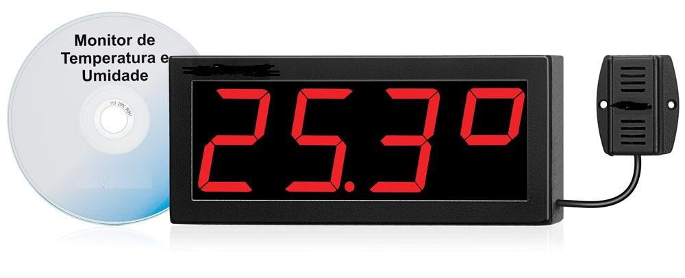 Monitor de Temperatura e Umidade Relativa Para Data Center / Kit Term-2s