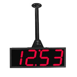 Relógio de parede dupla face RDI-1GDF (4 dígitos de cada lado ) / 60 Mts Visibilidade