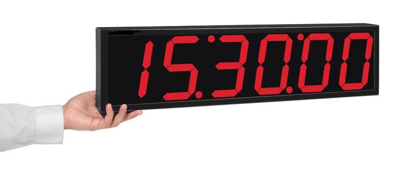 Relógio Digital De Parede 6 Dígitos Rdi-2G / 60 Mts Visibilidade