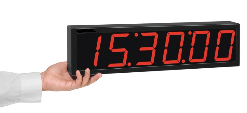 Relógio Digital De Parede 6 Dígitos Rdi-2M / 40 Mts Visibilidade