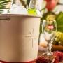 Balde Para Cerveja Em Alumínio Branco Stella Artois  Licenciado