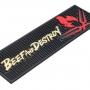 Bar Mat Porta Copos Beef And Destroy - Licenciado - Original