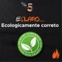 Carvão Ecológico Briquete Refil Acezo 1.6 Kg C/ Acendedor