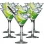 Copo Taça De Martini em Vidro - 274ml C/ 6 Unid