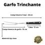 Jogo de Facas e Garfo Tramontina Century 3 Peças