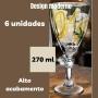Jogo de Taças Vinho e Agua Life 6pcs 270ml