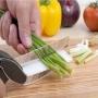 Tesoura De Cozinha Para Cortar Alimentos Direto Na Panela