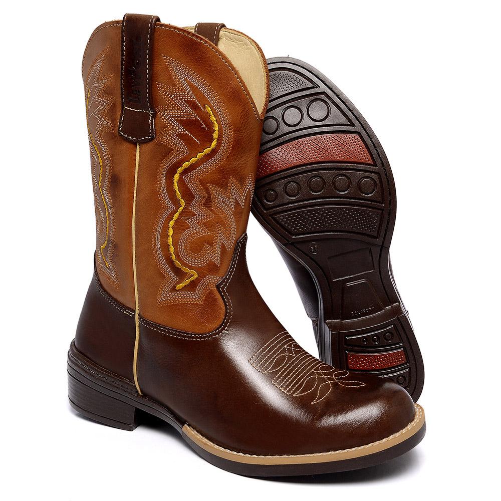 Bota Texana Bico Redondo - 2540