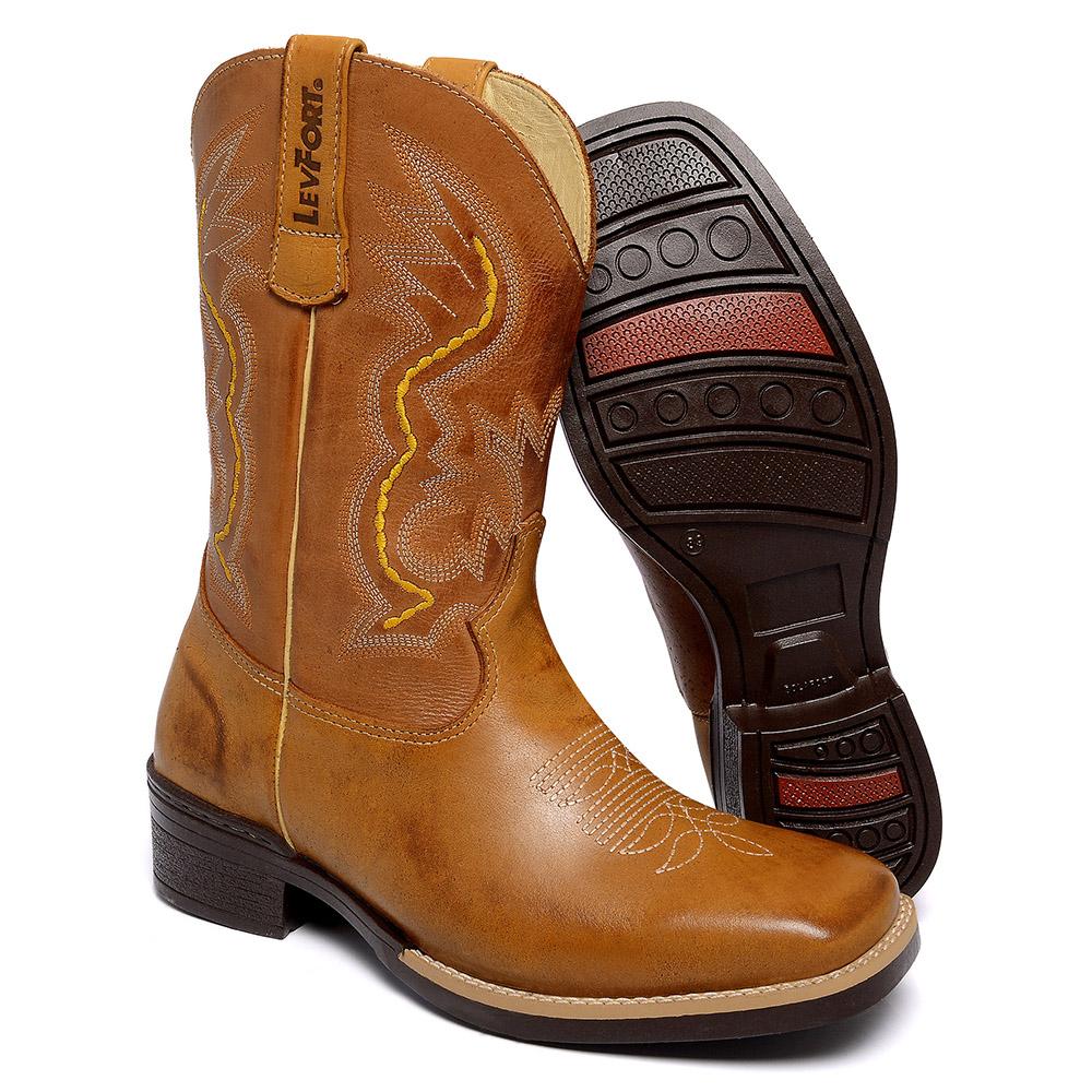 Bota Texana Bico Quadrado - 2541