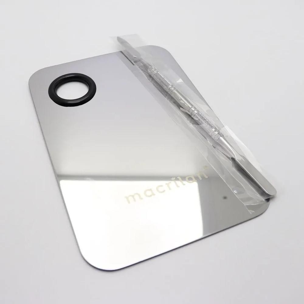 A Placa de Aço Inox para Maquiagem - Macrilan  (AC04)