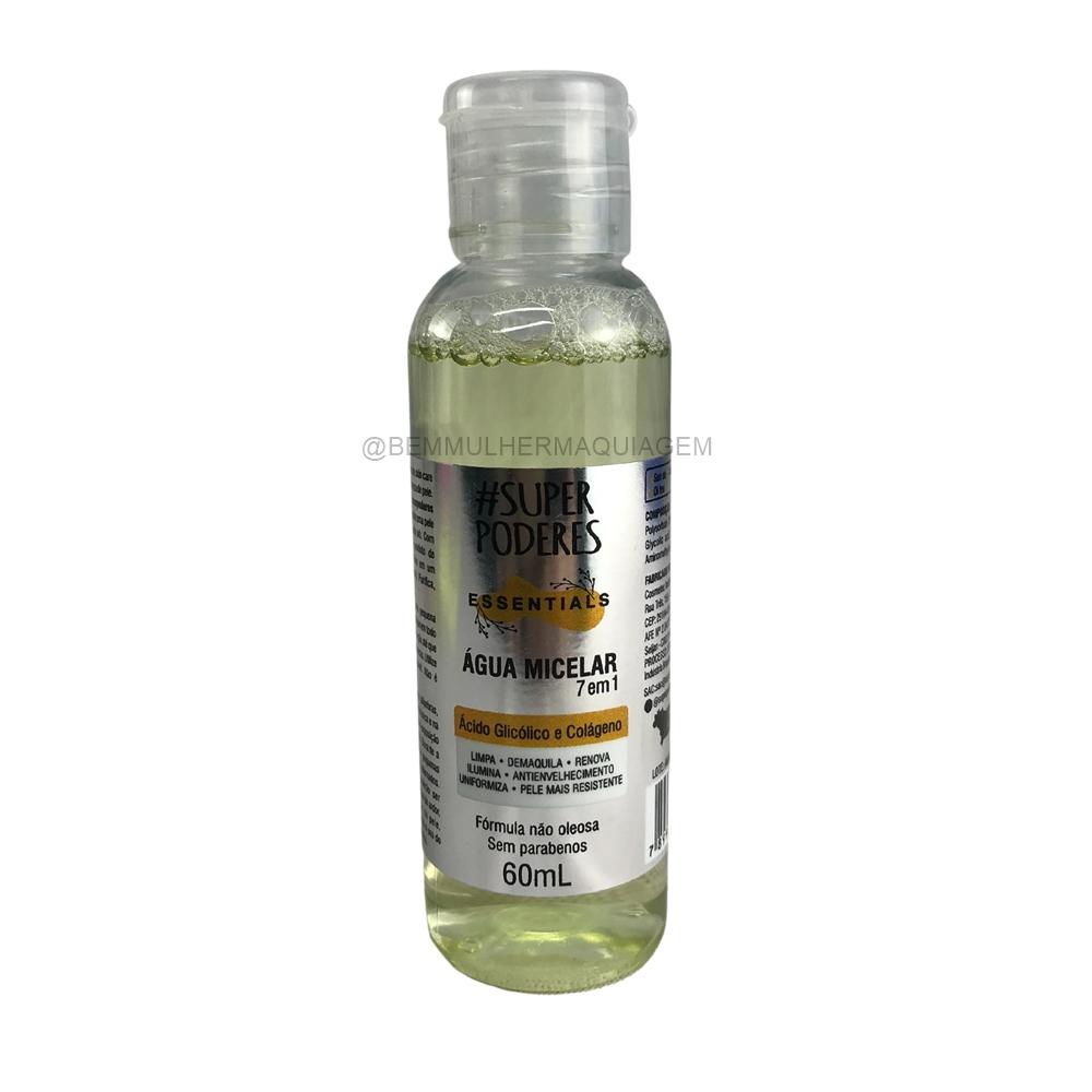Agua Micelar  Acido e Colágeno 7em1 - Super Poderes  (AAGC01)