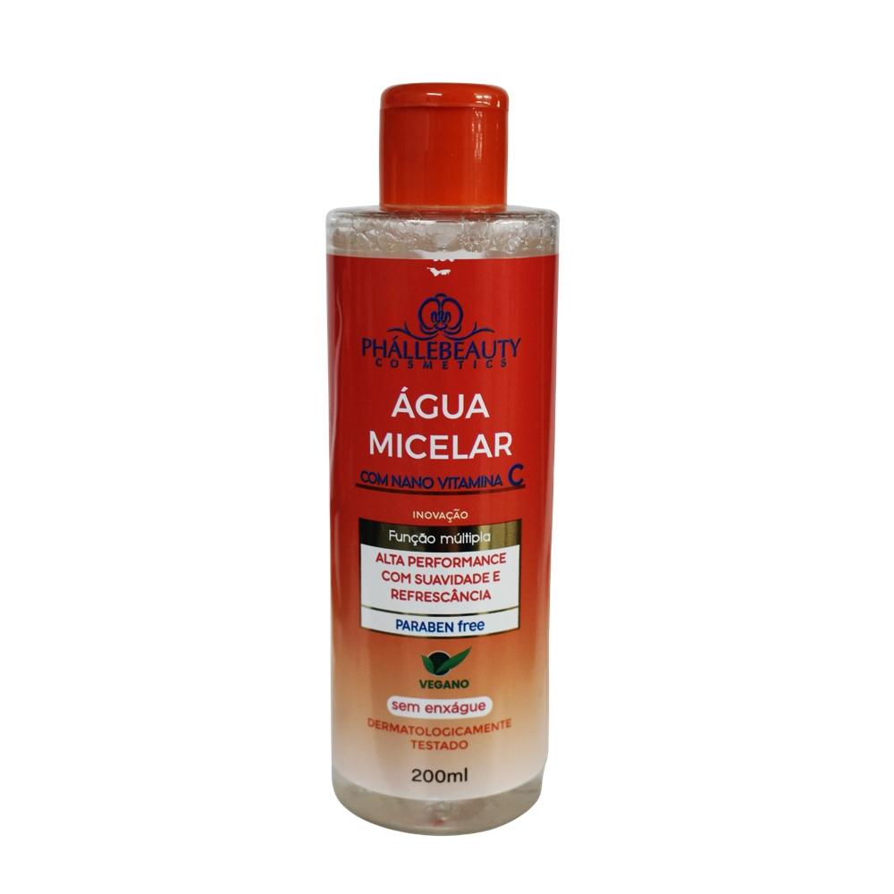 Agua Micelar com Nano Vitamina C - Phallebeauty (PH0503)