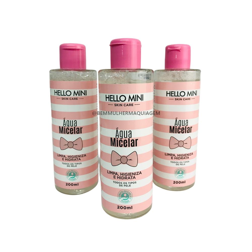 Água Micelar - Hello Mini (3013)