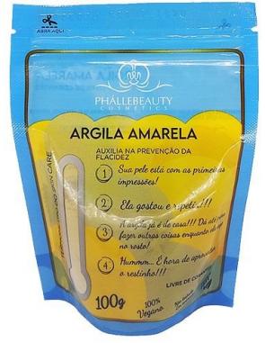 Argila Amarela 100g - Phallebeauty  (PH0536)