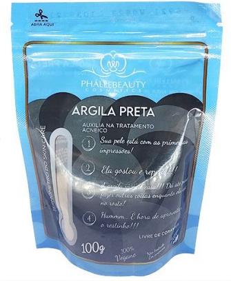 Argila Preta 100g - Phallebeauty (PH0534)