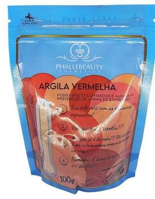 Argila Vermelha 100g - Phallebeauty (PH0535)