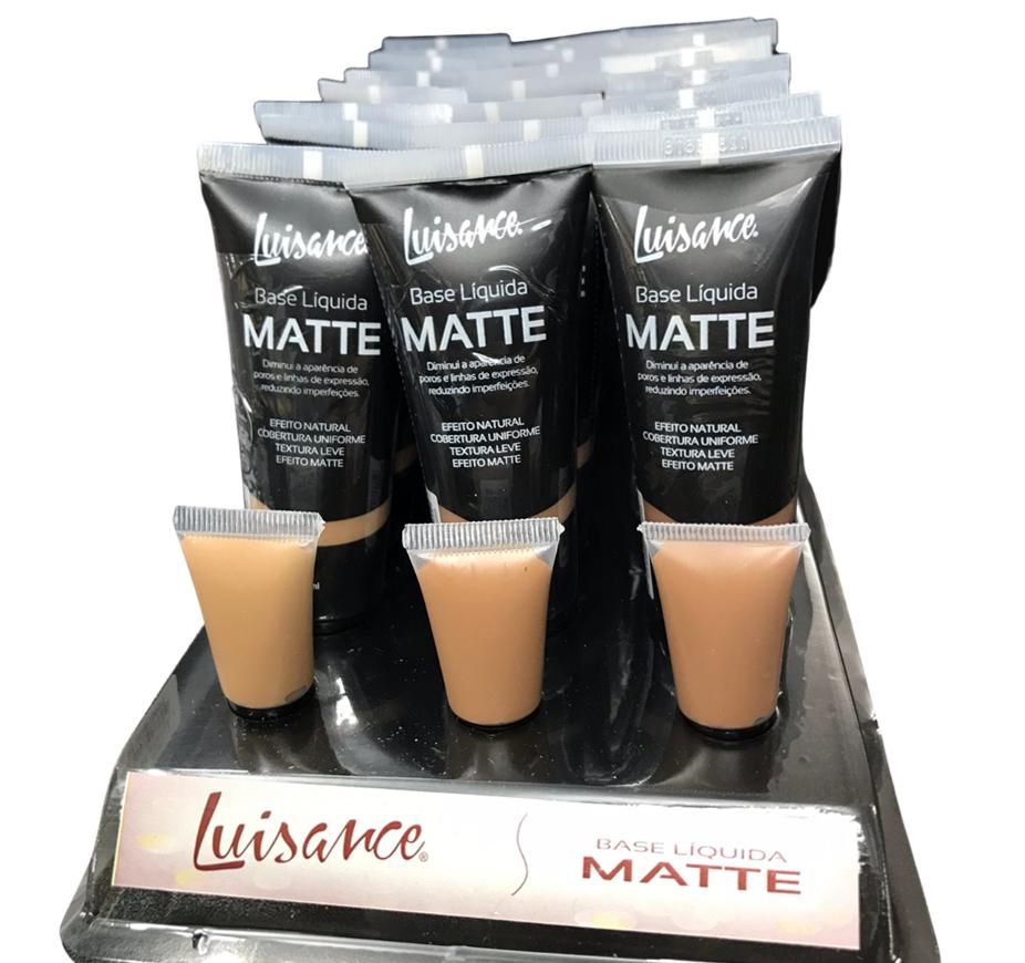 Base Líquida Matte - Luisance Cor B 30ml - Box com 24un. (L5001B)
