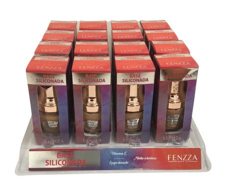Base Siliconada Fenzza - Box com 16Un. (FZ35011)