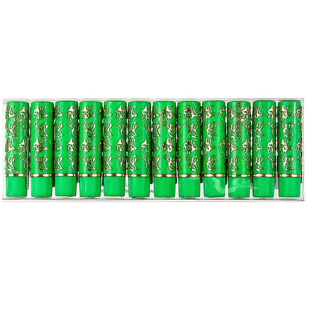 Batom 24 Horas Verde Bella Femme - Box com 12Un. (BF10015)