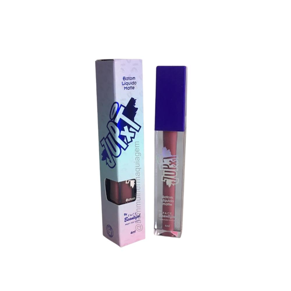 Batom Liquido Matte Iris JUPXT 4ml - Face Beautiful