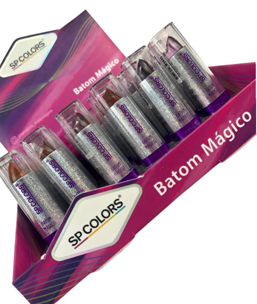 Batom Mágico - Sp Colors - Box com 36Un. (SP209)