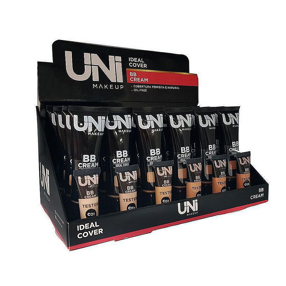 BB Cream - Uni Makeup Box Com 24 Unid. (UNBE09DS)