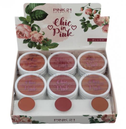 Blush Chic In - Pink 21 - Box com 24Un. (CS2355B)