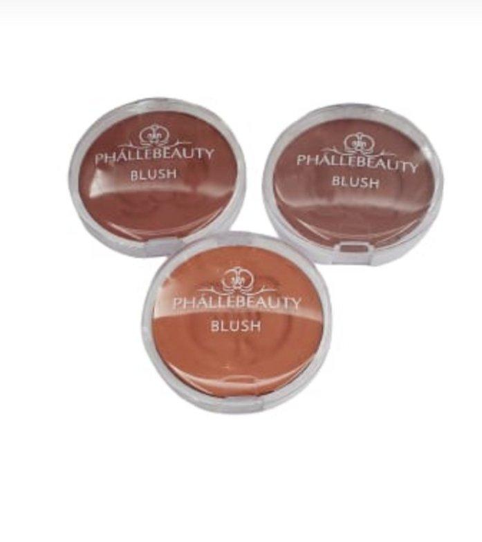 Blush Compacto Pretty Cheeks - PhalleBeauty  - Box Com 18 Und. (PH0307)