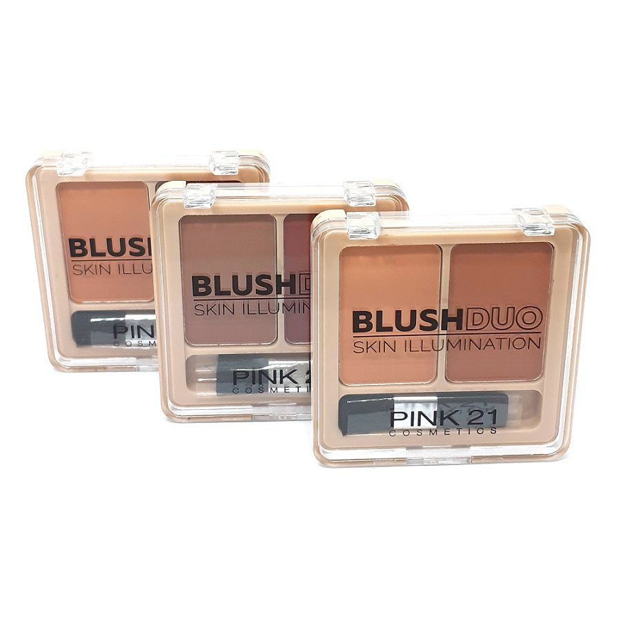 Blush Duo Skin Illumination - Box com 24Un. (CS2443)