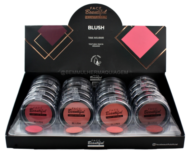 Blush - Face Beautiful - Box com 24Un. (FB209)