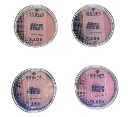 Blush - Shines - Box com 24Un.   (SH310)