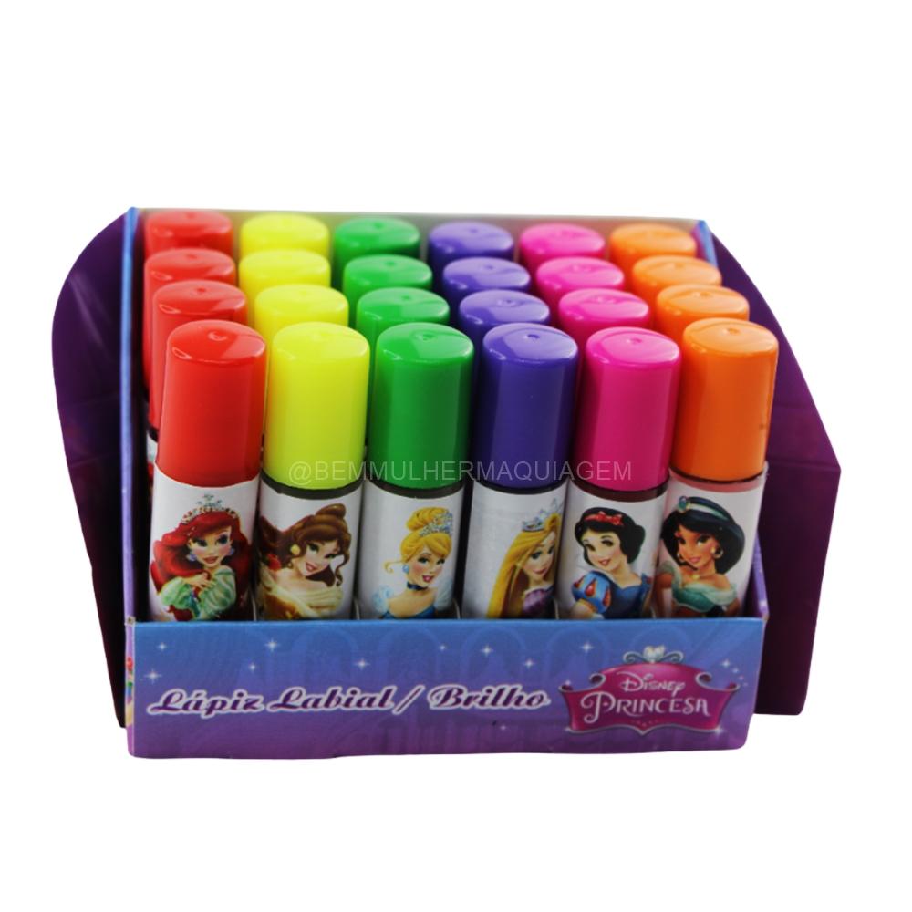 Brilho Labial Princesa - Disney - Box Com 24 Und. (DP5)