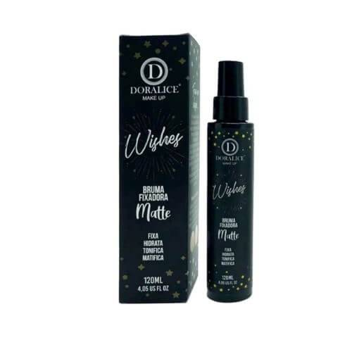 Bruma Fixadora Matte Wishes - Doralice Make Up 120 ml (DL304)