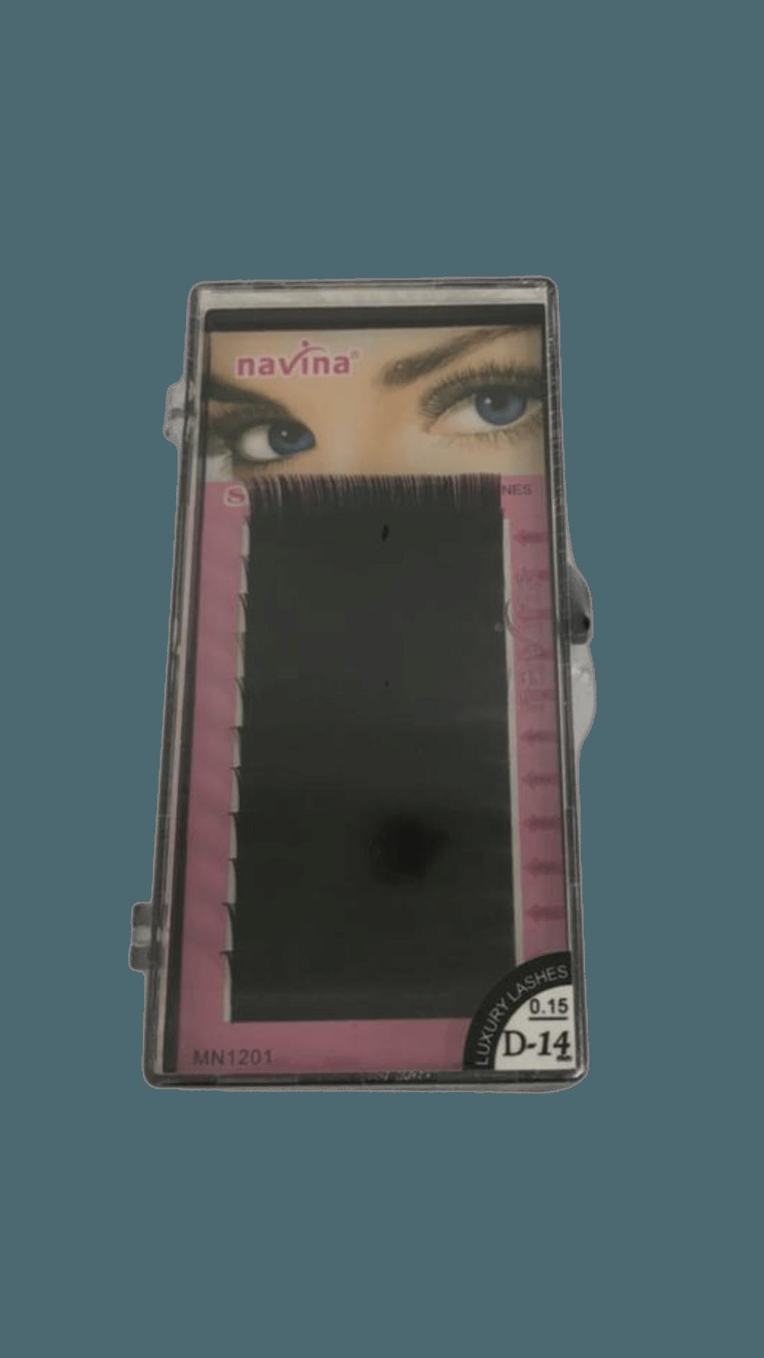 Cílios Curva D 0.15  - Navina 14MM