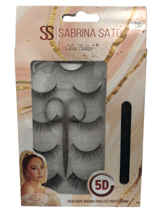 Cílios Postiços - Sabrina Sato - 4Pares  (SS1348)