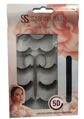 Cílios Postiços - Sabrina Sato - 4Pares  (SS1349)