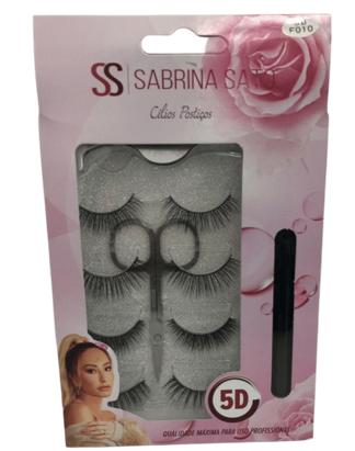 Cílios Postiços - Sabrina Sato - 4Pares  (SS1351)